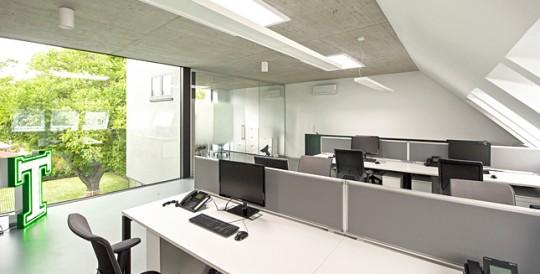Architekt Bürobau Umbau